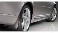 Genuine Volvo V70 (08-13) Rear Mud Flaps / Guards